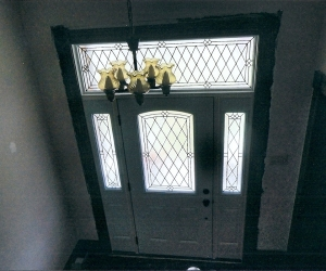 After Alston Glass Custom Transom