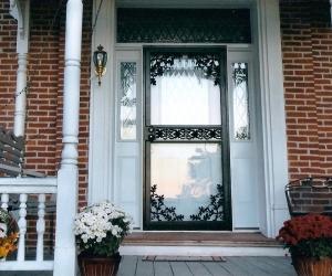 After Alston Glass Larson Security Storm Door