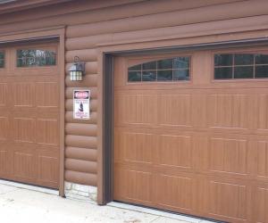 8300 Golden Oak Sonoma Arched Stockton Windows