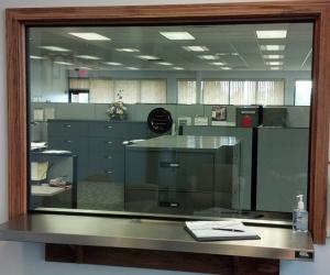 Security Pass Window
